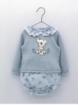 Baby girl patterned set