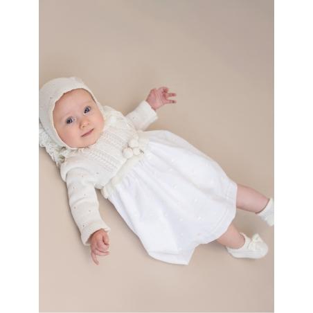 Capota punto bebé CC. Bautizo
