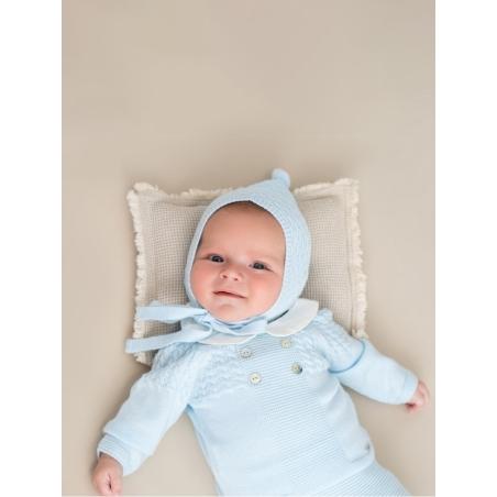 Capota bebé con pompón