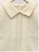Set de camisola com desenho trança e polaina