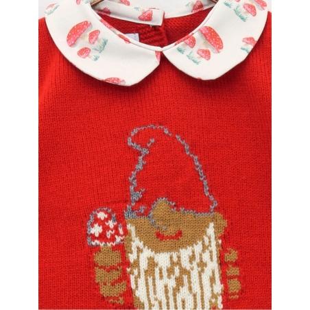 Conjunto camisola desenho enanito e cuequinha cogumelos
