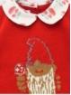 Conjunto jersey dibujo enanito y braguita setas