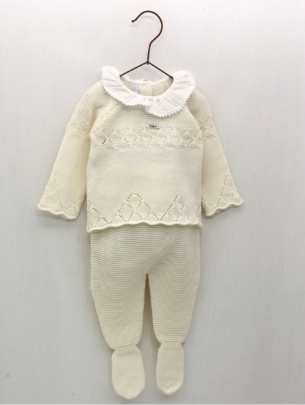 First days sbaby girl set of sweater and leggings