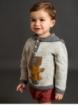 Baby basic denim bloomer shorts with bands