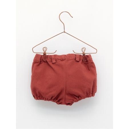 Pantalón braguita bebé tejido jeans básica gomas