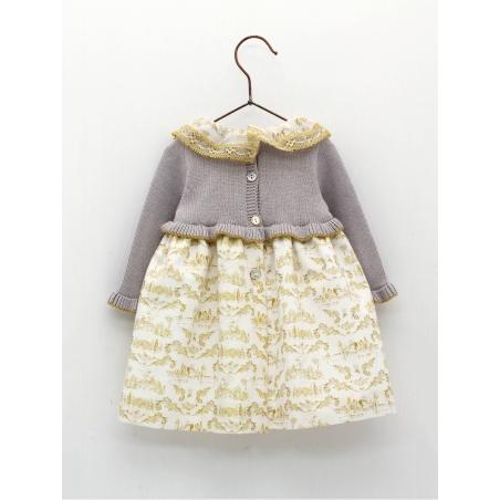 Baby girl skirt-like dress