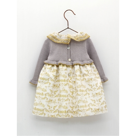 Vestido faldón bebé niña