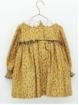 Vestido niña estampado cuello guipur