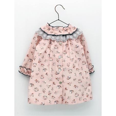 Floral patterned girl dress
