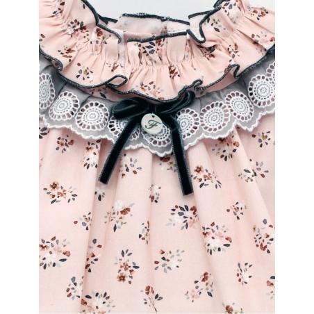 Vestido niña estampado floral