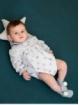Baby romper with koala print