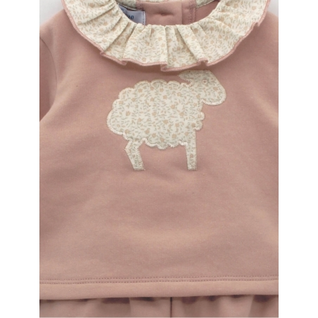 Conjunto bebé niña ovejita