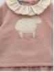 Baby girl little sheep set