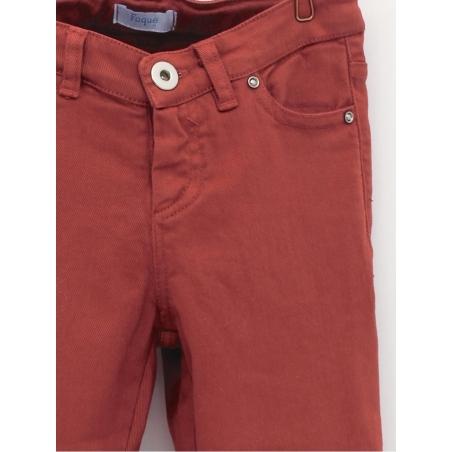 Basic five-pocket boy trousers