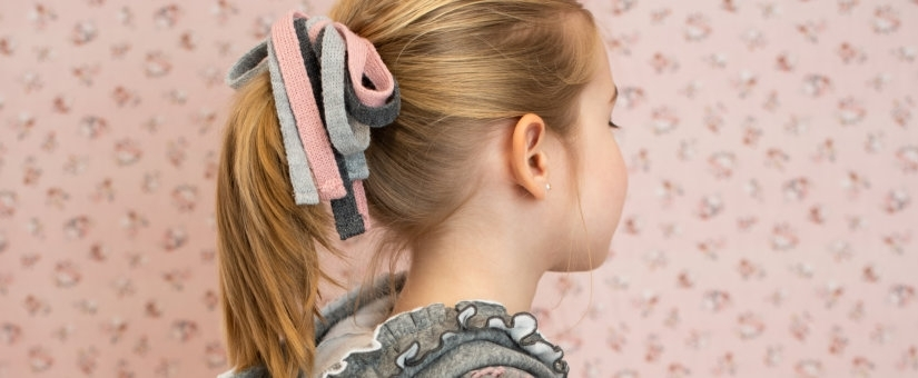 Apliques de cabelo para menina