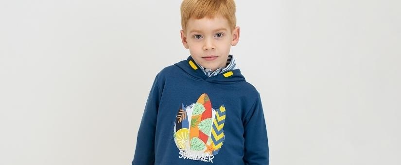 Jaquetas e suéteres para menino