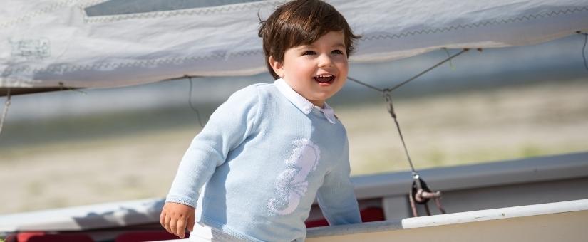 Jaquetas e suéteres para bebês