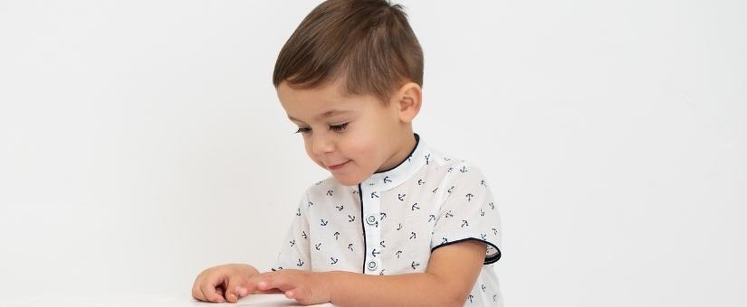 Blusas e camisas para bebés