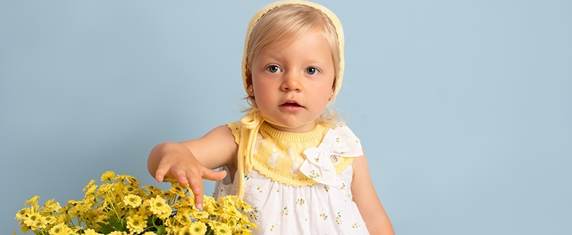 Vestidos para menina recém-nascida