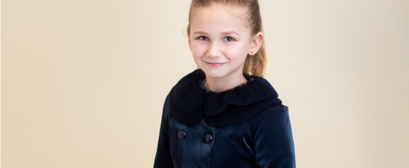 Coats and accessories for girl