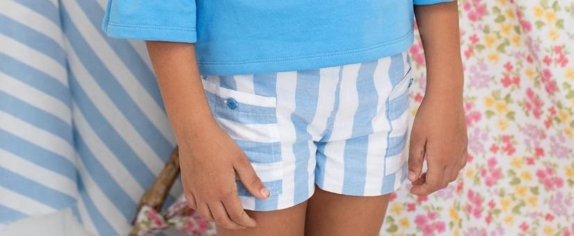 Pantalones y faldas para niña